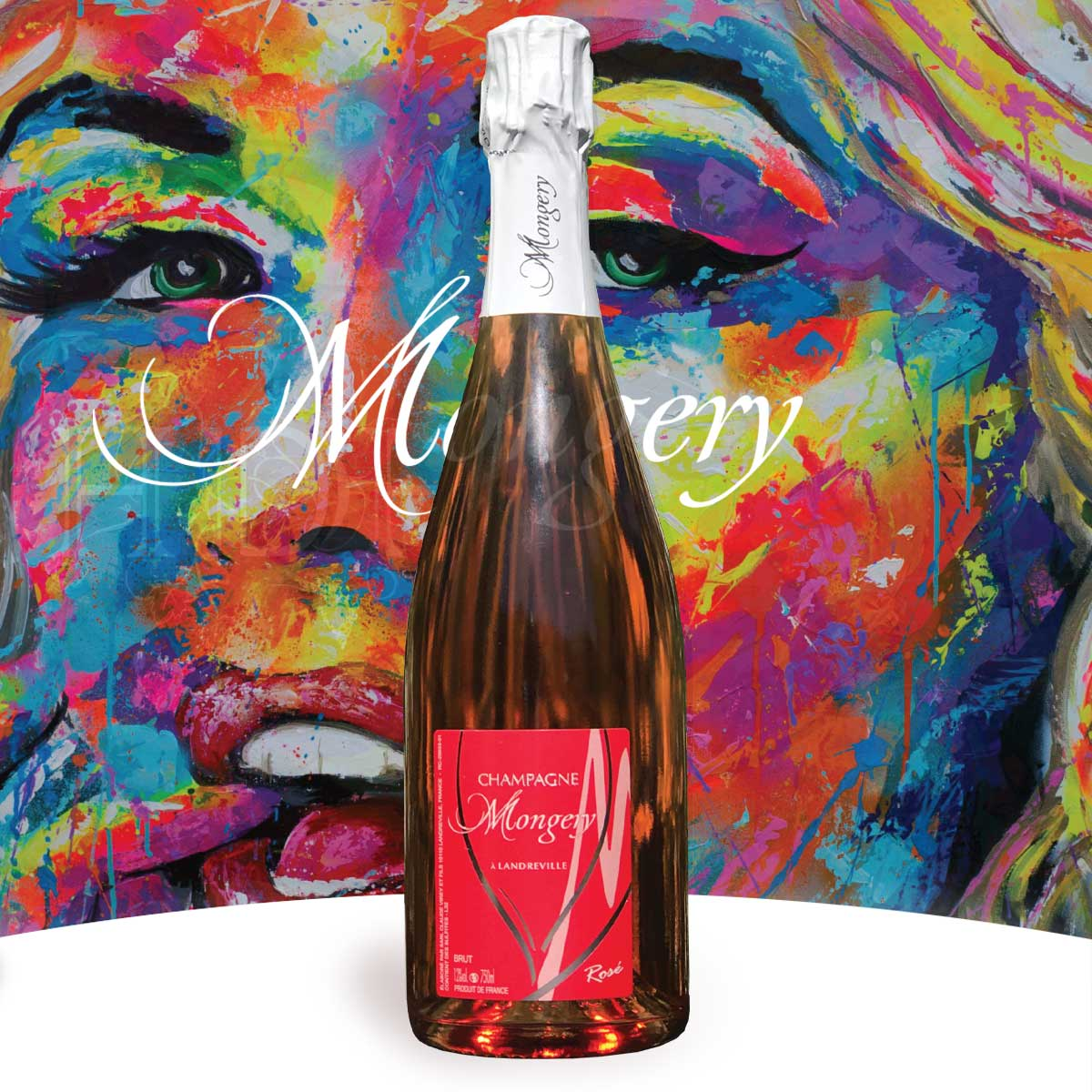 CHAMPAGNE IN A BUBBLE I MONGERY